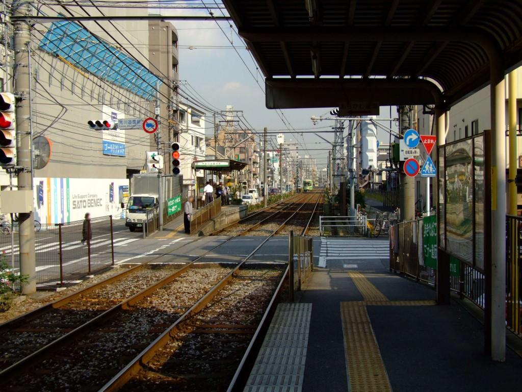 Toden-arakawa-yuenchimae-platfrom 3